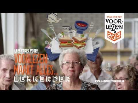 Voorlezen maakt alles lekkerder – commercial met Ruben Nicolai