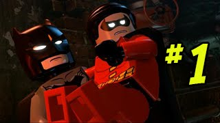 LEGO BATMAN 3: BEYOND GOTHAM - LET'S PLAY WALKTHROUGH (Part 1)
