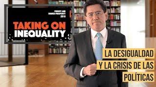La desigualdad y la crisis de las poíticas
