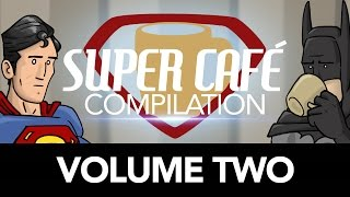 In honor of the coffee duo being on YouTube 10 years this month, please enjoy Volume Two of our Super Cafe Compilation.  Thank you for watching our silly shorts all these years!Super Cafe T-Shirt available for LIMITED TIME! (only till April 15th 2017)  Click the link to Pre-Orderhttps://store.dftba.com/products/super-cafe-shirtShirts will ship at the beginning of MayWatch Part One Again!https://youtu.be/wAkbCGNbvw8Twitter @theHISHEdotcomhttp://bit.ly/HISHETwitterInstagram @HISHEgramhttps://instagram.com/hishegram/Facebook: http://bit.ly/HISHE-FBHISHE Swag:http://www.dftba.com/hishe--------------Previous Episodes--------------------How Beauty and the Beast Should Have Endedhttps://youtu.be/8hm9ezomDhQ?list=PL3B8939169E1256C0How Rogue One Should Have Endedhttps://youtu.be/RjR71XpAu0I?list=PL3B8939169E1256C0How Doctor Strange Should Have Endedhttps://youtu.be/9e5epVDd9h0?list=PL3...How Star Wars Should Have Ended (Special Edition)https://youtu.be/oXUJiHut7YE?list=PLi...More HISHE Reviewshttps://www.youtube.com/playlist?list...Villain Pub - The Boss Battlehttps://youtu.be/bt__1gwGZSA?list=PL3...LEGO Harry Potter in 90 Secondshttps://youtu.be/jnbBcAr7XGo?list=PL3...Suicide Squad HISHEhttps://youtu.be/Wje0SdFWrzUStar Trek Beyond HISHEhttps://youtu.be/Fymz7yoELS4?list=PL3...Super Cafe: Batman GOhttps://youtu.be/KntOy6am7CM?list=PL3...Civil War HISHEhttps://youtu.be/fvLw021rVN0Villain Pub - The New Smilehttps://youtu.be/0oP8s4GK1BE?list=PLA...How Batman V Superman Should Have Endedhttps://youtu.be/pTuyfQ5CR4QTMNT: Out of the Shadows HISHEhttps://youtu.be/_ac8xKxeqzk?list=PL3...How Deadpool Should Have Endedhttps://youtu.be/5vbEcTIAdPs?list=PL3...Hero Swap - Gladiator Starring Iron Manhttps://youtu.be/P4mY4qmuJas?list=PL3...How X-Men: Days of Future Past Should Have Ended:http://bit.ly/X-MenDOFPHISHEStar Wars - Revenge of the Sith HISHEhttps://youtu.be/K2ScVx4mRDEJungle Book HISHEhttps://youtu.be/WcfDDa5YoV8?list=PL3...BAT BLOOD - A Batman V Superman AND Bad Blood Parody ft. Batman:http://bit.ly/BatBloodVillain Pub - The New Smile:http://bit.ly/VPNewSmileHow Finding Nemo Should Have Endedhttps://youtu.be/7g7kP_Trp0gHow Jurassic World Should Have Ended:http://bit.ly/JurassicWorldHISHEHow Inside Out Should Have Ended:http://bit.ly/InsideOutHISHEHow The Avengers: Age of Ultron Should Have Ended - Part Two:http://bit.ly/UltronPartTwoHow The Avengers: Age of Ultron Should Have Ended - Part One:http://bit.ly/UltronPart1Aquaman V Superman - Hero Swaphttps://youtu.be/WDwwhiyVAwY?list=PLi...How The Battle of the Five Armies Should Have Ended:http://bit.ly/Battleof5ArmiesHISHEJurrassic World - Raptor Training:http://bit.ly/RaptorTrainingHow Guardians of the Galaxy Should Have Ended:http://bit.ly/GuardiansHISHEHow The Avengers: Age of Ultron Should Have Ended:http://bit.ly/UltronTeaserHISHEHow The Maze Runner Should Have Ended:http://bit.ly/MazeRunnerHISHEHow The Amazing Spider-Man 2 Should Have Ended:http://bit.ly/ASM2HISHEVillain Pub- To The Tailor:http://bit.ly/VP-ToTheTailorHISHEThe Lego HISHE 2 (The Alternate Ending):http://bit.ly/LegoHISHE2How Captain America: The Winter Soldier Should Have Ended:http://bit.ly/CaptainAmericaWSHISHEHow Godzilla Should Have Ended:http://bit.ly/GodzillaHISHEVillain Pub- To Battle!:http://bit.ly/VP-ToBattleHISHEHow Frozen Should Have Ended:http://bit.ly/FrozenHISHEThe Lego HISHE:http://bit.ly/TheLegoHISHEHow The Batman Begins Should Have Ended:http://bit.ly/BatmanBeginsHISHEHow The Desolation of Smaug Should Have Ended:http://bit.ly/SmaugHISHE