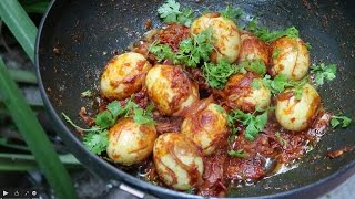 Egg Curry - Fried Egg Recipe - Country Food