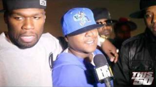50 Cent x D-Block x Maino x Cory Gunz x Trav - MTV News | Interview | 50 Cent