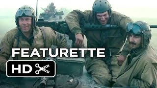 Fury Featurette   Brothers Under The Gun  2014    Brad Pitt  Shia Labeouf War Movie Hd