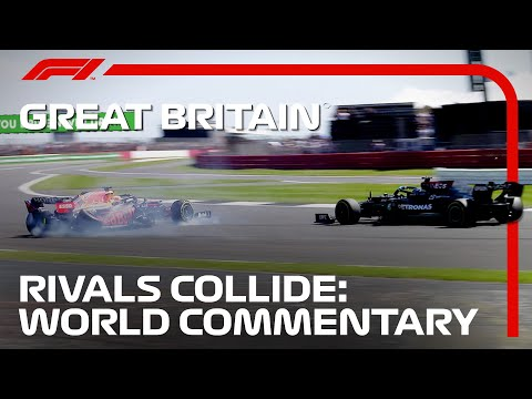 How The World Reacted To Hamilton and Verstappen's Collision