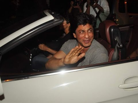 Underworld Threat Forces SRK To Buy A Bomb Proof Mercedes 20 October 2014 06 PM