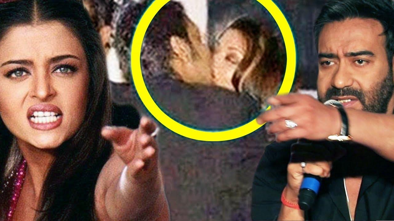 Ajay Devgn KISSES Aishwarya Rai In Public Accidentally