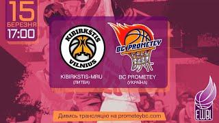Kibirkstis-MRU – Prometey – EWBL 2020/21