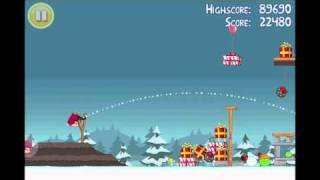 Angry Birds Seasons Greedings Gift Level Walkthrough