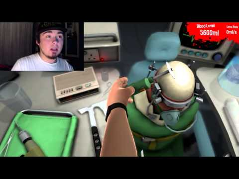Surgeon Simulator 2013 | REVENTANDO CRANEOS