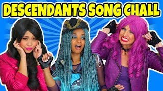 Song Challenge. Descendants 2 Sing Popular Songs and Switch Genres to a Different Tune. Totally TV