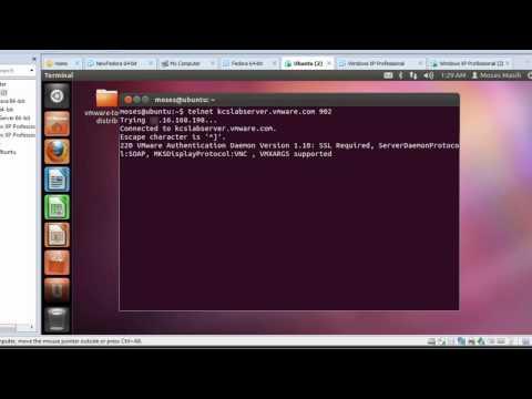 Testing port connectivity with Telnet