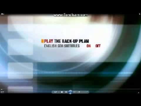 Opening To The Back-Up Plan 2012 DVD