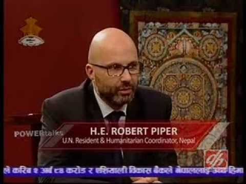 H.E. Robert Piper, UN Resident in Nepal (picture: youtube.com)