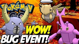 NEW POKEMON GO BUG EVENT DISCUSSION! SHINY HERACROSS? SHEDINJA AND MORE! by aDrive