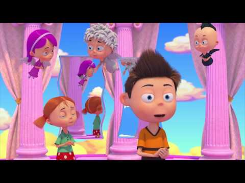 Ангел Бэби - Зеркало жизни - Развивающий мультик для детей (11 серия) (видео)