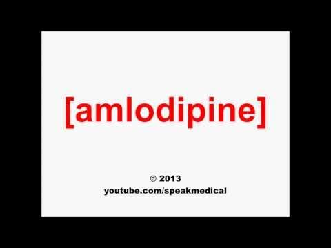 Pronounce Amlodipine   SpeakMedical