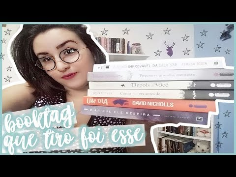 TAG | QUE TIRO FOI ESSE? | Garota Bibliotecária