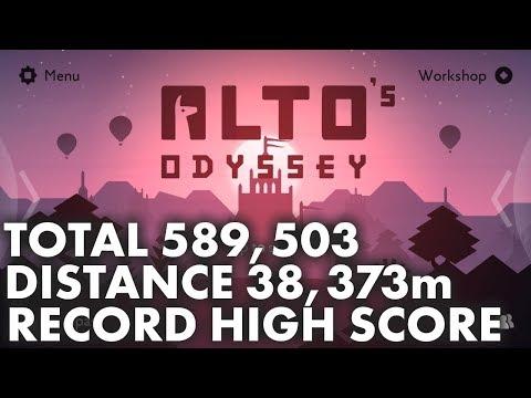 Alto's Odyssey - 589,503 World Highest Score Record