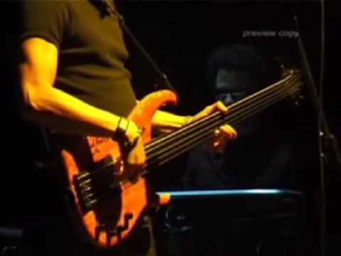 Fernando Saunders bass solo with JT Lewis