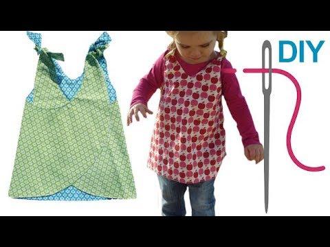 Kleid nähen für Babys & Kinder – für Nähanfänger – Anleitung & Schnitt von Zierstoff