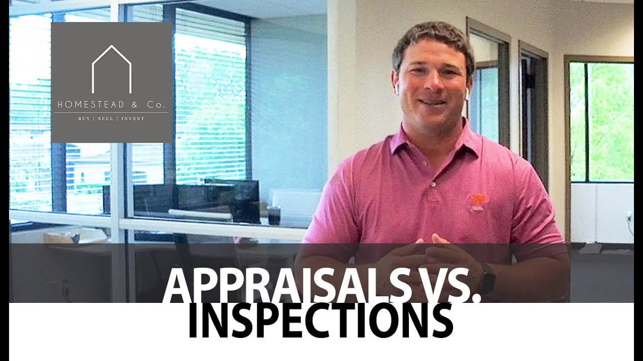 What's the Difference Between Appraisals and Inspections?