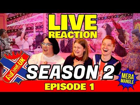 Drag Race UK LIVE REACTION: Season 2 - Episode 1 | Mera Mangle