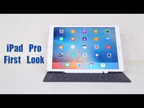Apple iPad Pro First Look Video