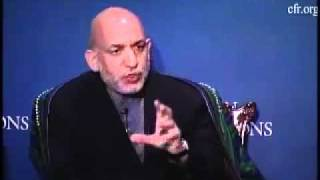 Afghan President Hamid Karzai