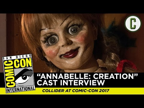 Annabelle Creation Cast Interview - SDCC 2017