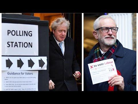 Η Βρετανία στις κάλπες: Ψήφισαν οι πολιτικοί αρχηγοί