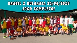 CBDE: Mundial Escolar de Vôlei Fem - Brasil X Bulgaria