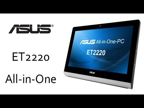 ASUS ET2220 All in One PC Official Overview