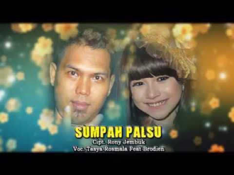 Download Lagu Tasya Rosmala Ft.Brodien - Sumpah Palsu [OFFICIAL] Music Video