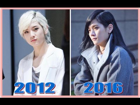 NU'EST Ren 최민기 Evolution (2012-2016) (видео)
