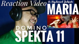 Download Video MARIA - DOMINO Jessie J - Spekta 11 Top 5 Indonesian Idol 2018 - Reaction Video MP3 3GP MP4