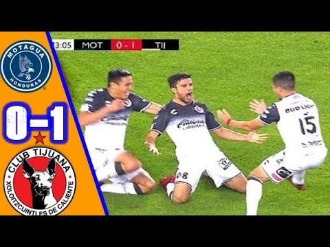 Motagua vs Xolos Tijuana 0-1 Resumen Gol Concachampions 2018