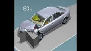 Crash Test  in 3D Virtual