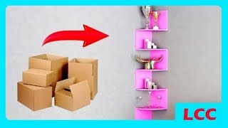 Video HOW TO EASY DECORATION ROOM WITH USED CARDS | CREATIVE CRAFT MP3, 3GP, MP4, WEBM, AVI, FLV Juni 2018