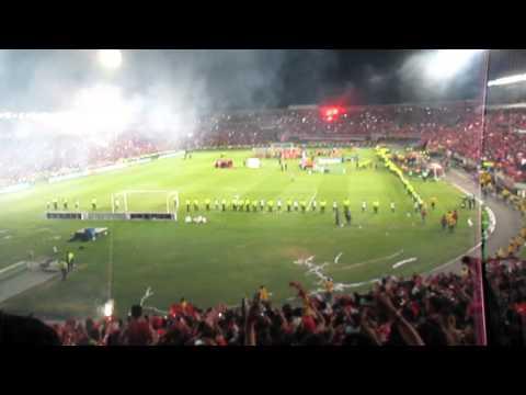 Independiente Santa Fe Campeón Continental - La Guardia Albi Roja Sur - Independiente Santa Fe