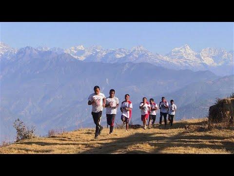 Nepals Marathon-Mönche: Training am Fuße des Himalaya