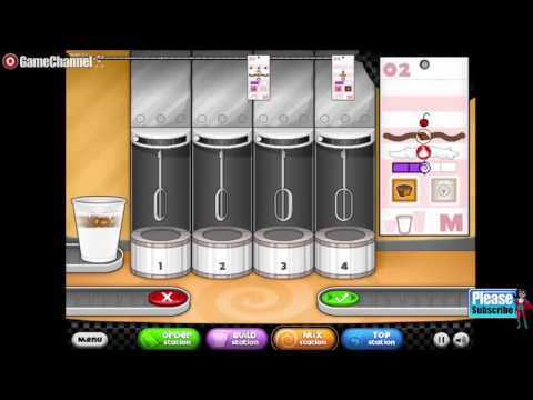 Papa Freezeria Cooking Games Online Free Flash Game Videos GAMEPLAY