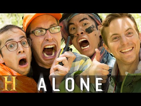 The Try Guys Try Not To Die Alone (видео)