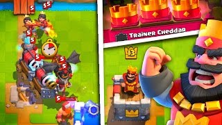 Clash Royale CHEATER! Unlimited Legendaries - Trainer Cheddar
