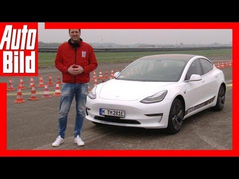 Tesla Model 3 (2018) - Erste Fahrt / Erklärung