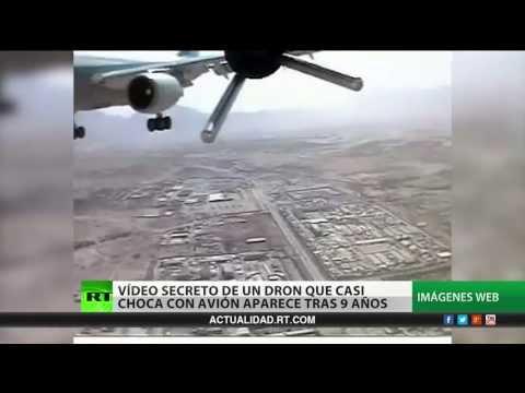 fabricante de aviones - Un drone alemán estuvo a punto de chocar con un avión de pasajeros en Afganistán. El vídeo atrajo la atención pública después de que el Ministerio de Defensa...