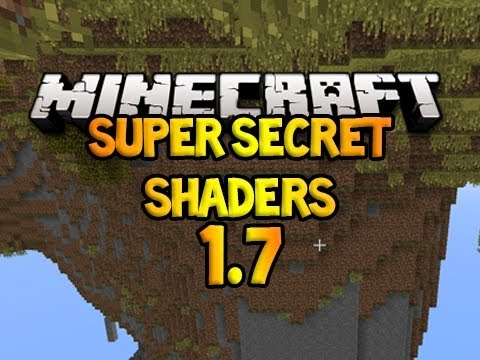 Minecraft: 1.7.2!! - SUPER SECRET SHADERS?!! (Awesome Filters & Upside Down P.O.V) (видео)
