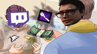 Donating to make Twitch Streamers TOXIC (Dead By Daylight)