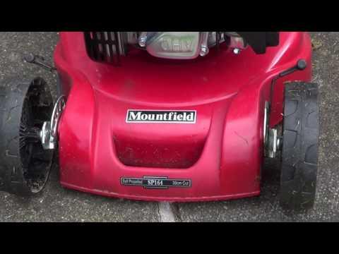 Mountfield SP164 Belt Replacement (видео)