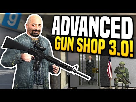 ADVANCED GUN SHOP 3.0 - Gmod DarkRP | Very Secure Store!