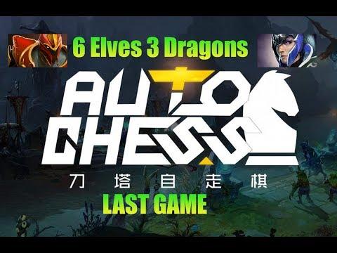 Đội hình 6 Elves 3 Dragons. Tạm biệt Auto Chess!! - Thời lượng: 40:40.